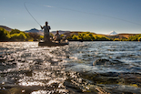 chime lodge brown trout fishing rio grande patagonia argentina